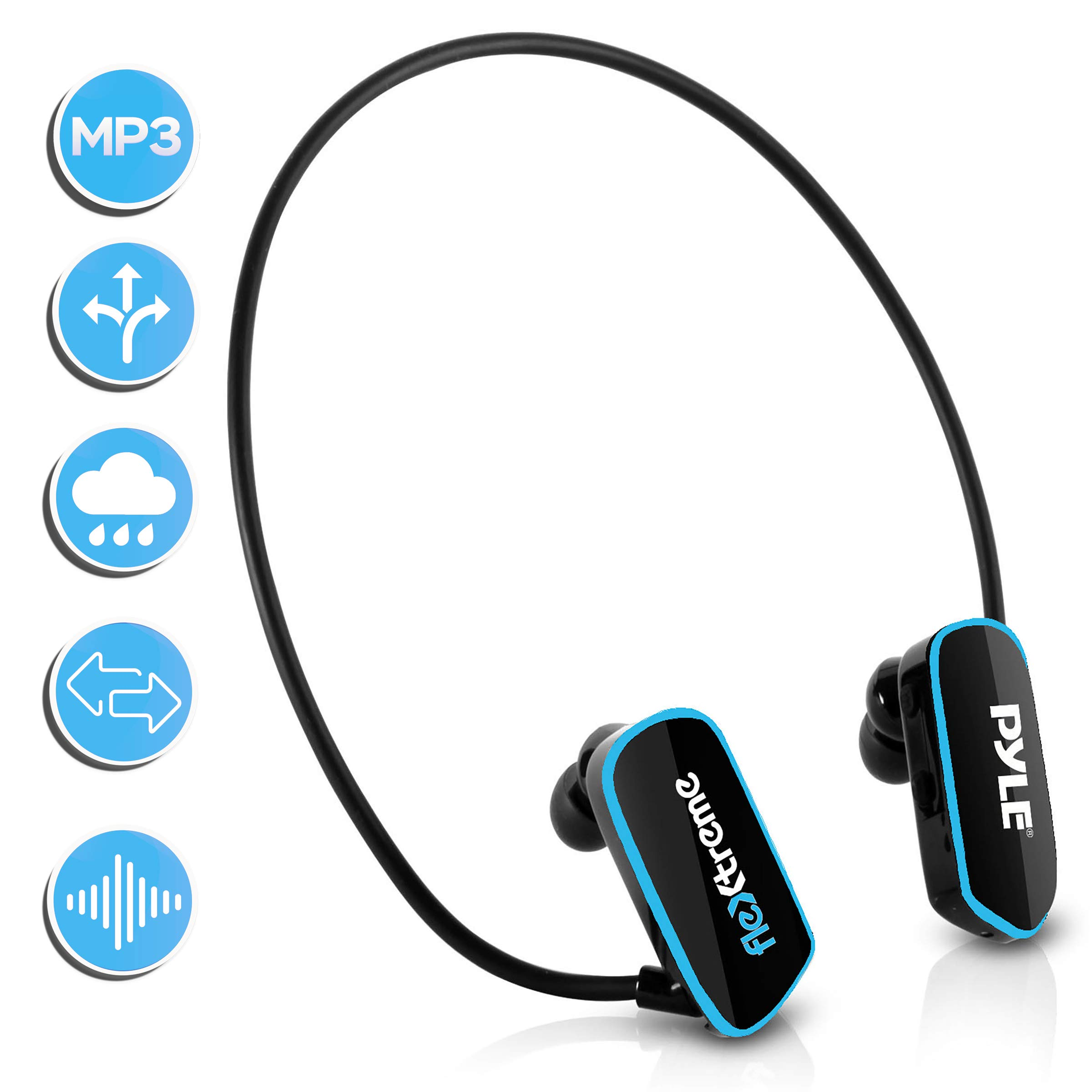Waterproof Player Swim Headphone Built