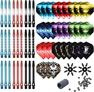 Stems Shafts Darts Shafts 30pcs Set 6 Colors 50mm Medium Fashion High Quality