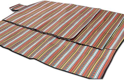 YHSFC Tapis de Pique-Nique Tissu rembourré imperméable Grande Couverture Rampante Camping en Plein air