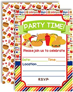 Best hot dog party invitations free Reviews