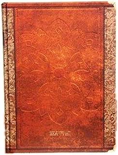 アンティーク ヨーロピアン風 洋書のような 美しい 硬表紙ノート B5サイズ ブラウン