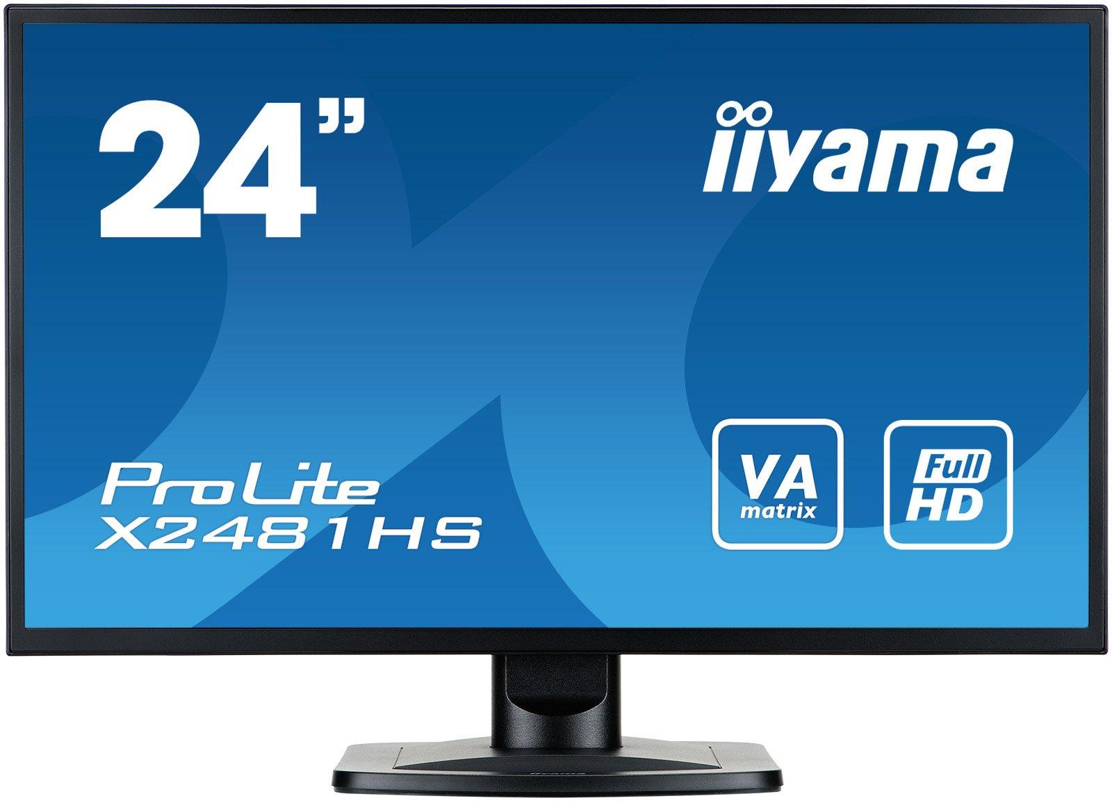 iiyama X2481HS-B1 Monitor VS LED 60cm (23,6