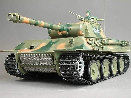 Char panzer panther son et fumée 1 16 (3819-1)