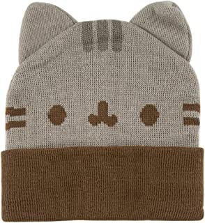 Pusheen Beanie Hat Ears Gray