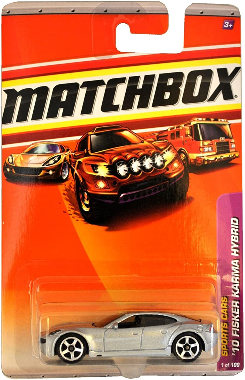 Matchbox 2010-1 100 Sports Cars '10 Fisker Karma Hybrid Silber 1 64 Scale B004VPA7G2 Internationale Wahl | Attraktiv Und Langlebig