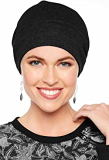 d956a573a14 Headcovers Unlimited Cotton Relaxed Beanie-Caps for Women with Chemo Cancer  Hair Loss