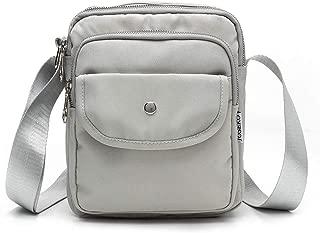 JOSEKO Travel Handbags for Women, Mini Nylon Crossbody Travel Messenger Organizer Purse Lightweight Pocket Bag