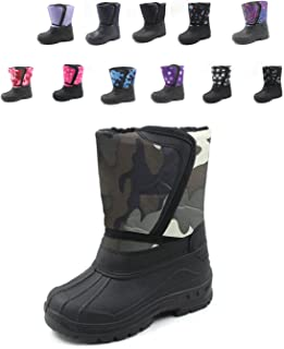 Ska-Doo Cold Weather Snow Boot 1319 Green Camo Size Big Kid 5