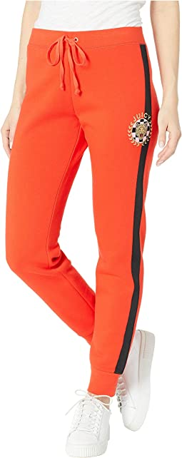 Luxe Tiger Patch French Terry Zuma Pants