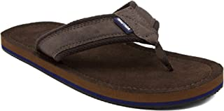 Nautica Men's Tayrona Flip Flop, Rustic Style Fabric Lined, Beach Sandal