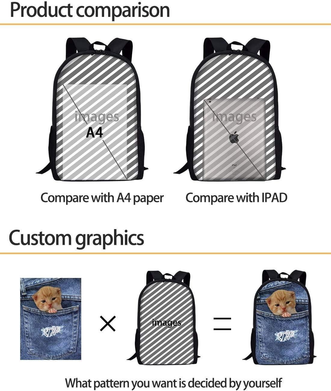 YEGFTSN School Backpack for Childre Boys Girls,Otter Travel Laptop Backpack College Bookbag Daypack