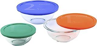 Pyrex Smart Essentials 6-Piece Glass Mixing Bowl Set