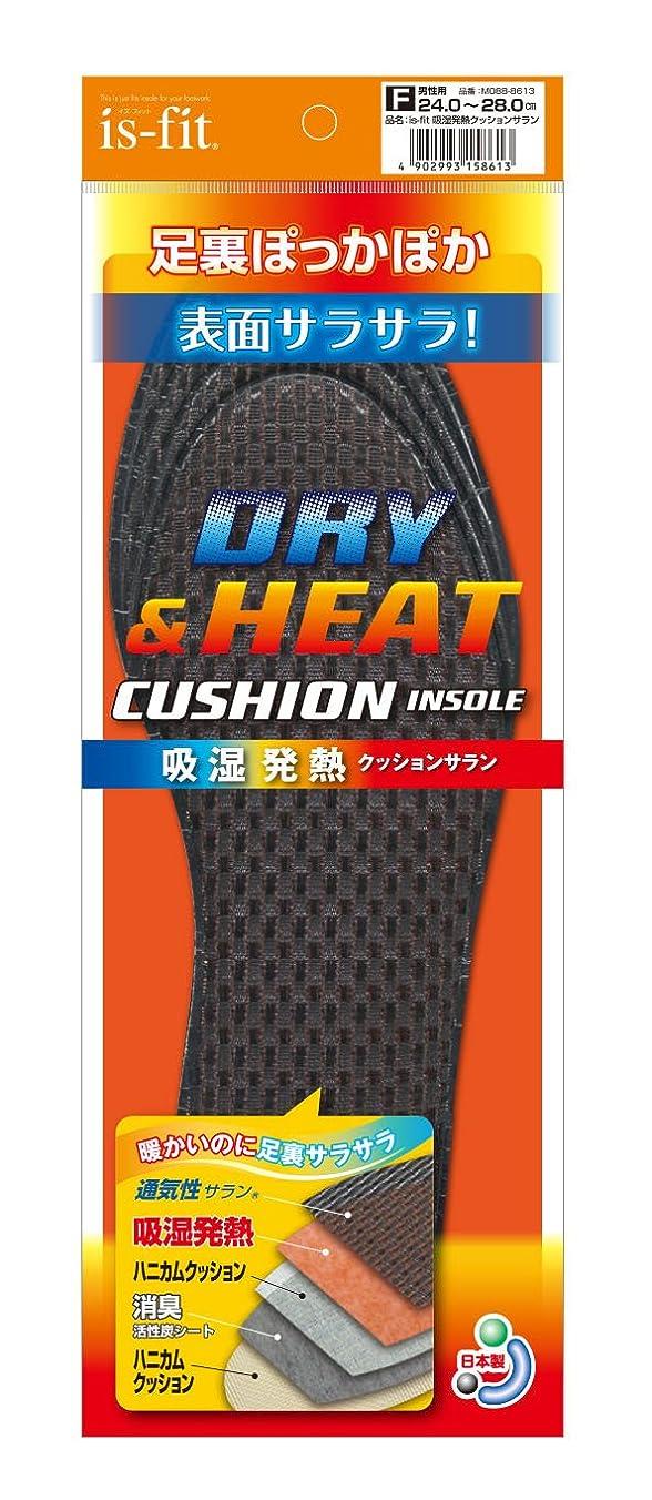 私達ブラザー対is-fit(イズフィット) 吸湿発熱クッションサラン 男性用 フリー(24.0cm~28.0cm)