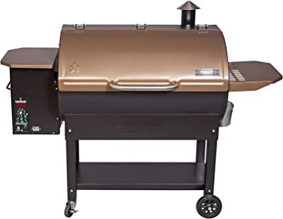 Camp Chef SmokePro LUX Wood Pellet Grill Smoker, Bronze (PG36LUXB)