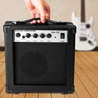 Luvay 10 Watt Electric Guitar Amplifier, with Back Support - Stand