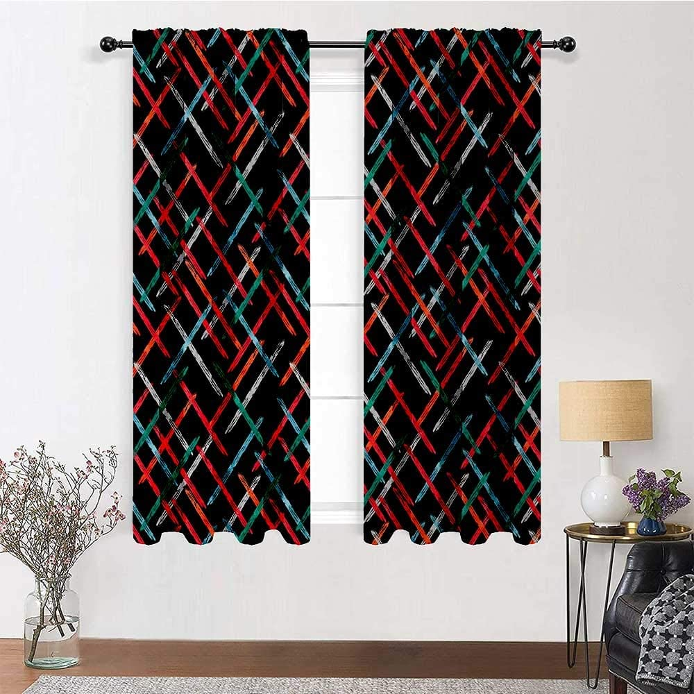 Ranking TOP11 Interestlee Kitchen Curtains 96 inch Drapes Length All items in the store Abstract for