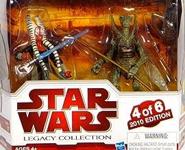 Star Wars 2010 Exclusive Geonosis Arena Showdown Action Figure 2Pack Shaak Ti Genosian Warrior #4 of 6