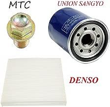 Tune Up Kit Cabin Air Oil Filters Drain Plug for Honda Accord 2008-2014