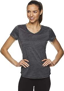 Women's Perfect Match Short Sleeve Workout T-Shirt - Performance V-Neck Activewear Top