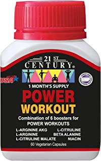 21st Century Power Workout Capsules, 60ct