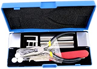 Moli Professional Locksmith Tool 12 in 1 Disassembly Lock Tool Remove Lock Pick Repair Tool Pick Set Locksmith Kit