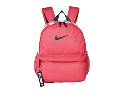 Nike Kids Brasilia JDI Mini Backpack (Little Kids/Big Kids) (Watermelon/Watermelon/Valerian Blue) Backpack Bags