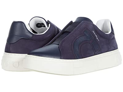 Salvatore Ferragamo Tasko Sneaker (Indigo) Men