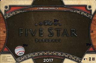 2017 topps five star box