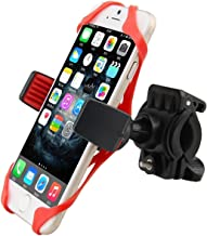 Giveme5 Universal Bike Phone Holder with Supergrip Elastic Stabilizer for Iphone 4,5,6,6s or Android up to 4.7 inch screens