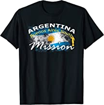 Argentina Buenos Aires South Mormon LDS Mission Missionary T-Shirt