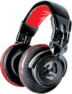 Numark Red Wave Carbon - lekkie, wysokiej jakości słuchawki DJ z przegubem obrotowym, przetworniki 50 mm, zdejmowany kabe...