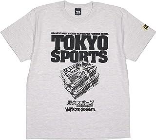 (ハードコアチョコレート) HARDCORE CHOCOLATE 東京スポーツ×HARDCC (飛ばしオートミールカラー)(SS:TEE)(T-1534EM-OM) Tシャツ 半袖 カットソー コアチョコ 国内正規品