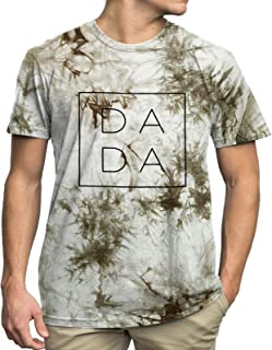 Sponsored Ad - Dad Shirts for Men Funny DADA Letter Print Graphic Tshirts Father Daddy Papa Gifts Tee Tops