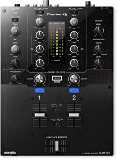 Pioneer DJ DJM-S3 2 Channel Mixer for Serato DJ