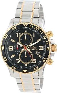 インヴィクタ Invicta Men's 14876 Specialty Chronograph 18k Gold Ion-Plated and Stainless Steel Watch [並行輸入品]