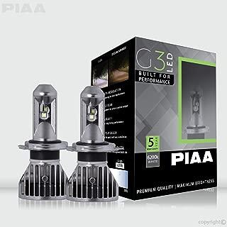 PIAA 26-17404 G3 H4 LED Bulb (6200K 12/24V 24W Twin Pack)