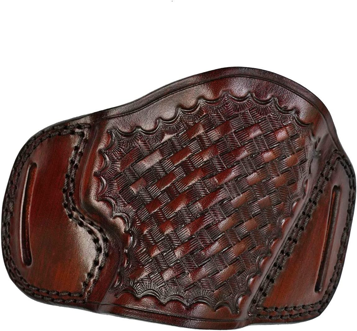OWB Leather Holster for Canik TP9 Now on sale online shopping Weave Basket Series - Genuin
