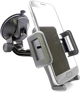 Universal Handyhalterung Autoscheibe Saugnapf Scheibe Auto KFZ Handy Halterung Halter (kompatibel mit Samsung & iPhone) S21 S20 S10 S9 S8 A71 A70 A51 A40 M51 M30 12 11 X XS XR Plus Ultra Max Mini Pro