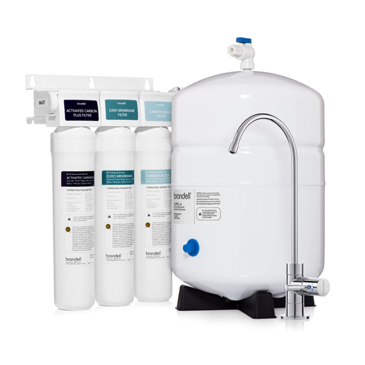 Capella Reverse Osmosis Water Quality inspection Filtration WQA - RO Max 44% OFF Certified syst