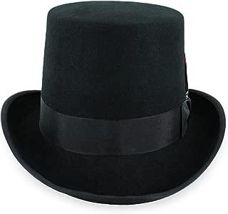 100 wool top hat