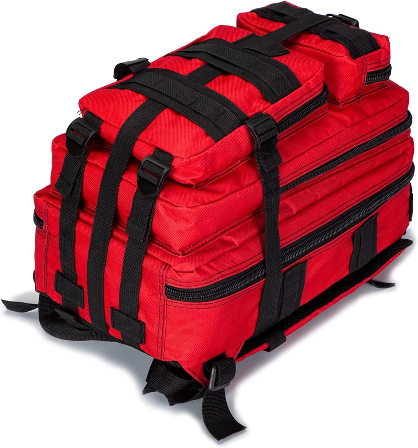 JIU SI Mochila táctica de Primeros Auxilios Molle Molle Bag Trauma Responder Bolsa de Utilidad médico Mochila Militar para al Aire Libre Backcountry