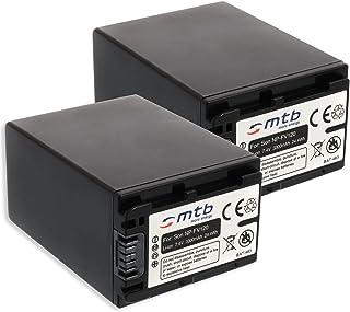2X Batería NP-FV120 (3300mAh) - reemplaza NP-FV100A - Compatible con Sony FDR-AX33 AX700. / HDR-PJ410 PJ620. / CX740 CX900. / DEV-30 50V - Ver Lista! [Li-Ion - 7.2V - con Infochip]