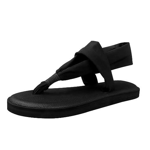 63870fba8a2b3 Santiro Men s Women s Lightweight Thong Sandals Flip-Flops
