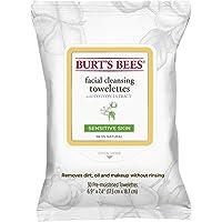 30 Count Burt's Bees Sensitive Facial Cleansing Towelettes