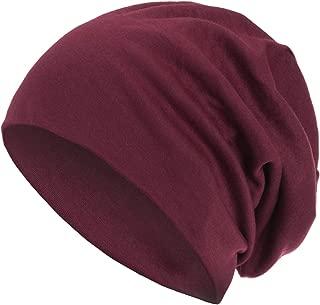 style3 Warme Herbst Winter Slouch Beanie XXL aus atmungsaktivem, feinem und leichten Jersey Unisex Mütze Wintermütze Einheitsgröße