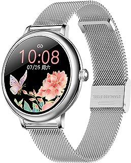 CF80 Frauen Smart UHR Volle Runde Hartslag Monitor IP67 Wasserdichte Lange Standby Damen Fitness Mode Uhren