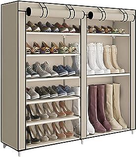 ACCSTORE Étagère à Chaussures Style De Démarrage Hode Jusqu'à 27 Paires,Beige