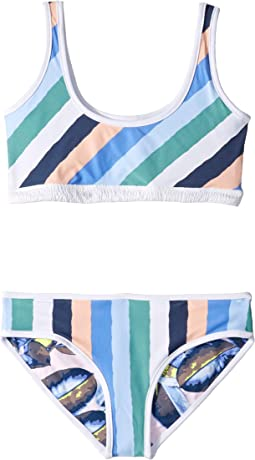 Cielo Branco Reversible Bikini (Toddler/Little Kids/Big Kids)