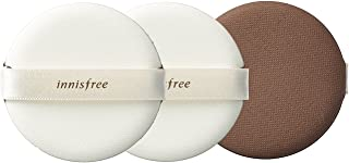 innisfree Make up Air Magic Fitting Cushion Puff 3pcs New Improved Matte Finish Higher Coverage Longer Lasting Adherence