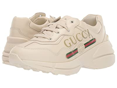 Gucci Kids Guccified Logo Sneaker (Little Kid) (White/Multi) Kid